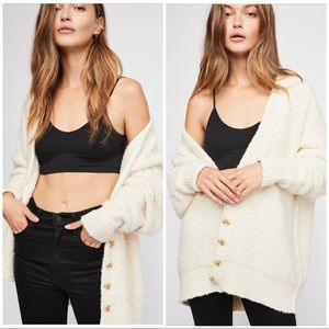 Free People Coziest Ever Cardi Ivory S